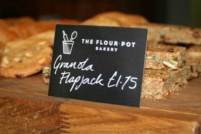 The Flour Pot backed goods label