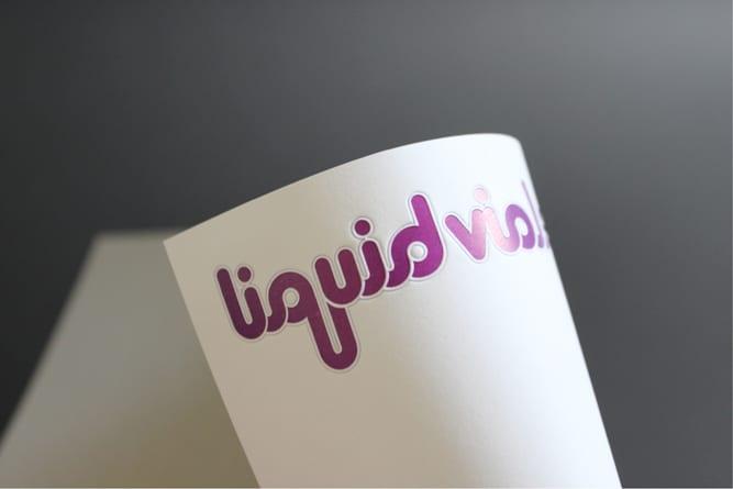 Liquid Violet typeface