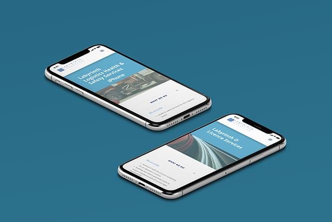 Labyrinth mobile website