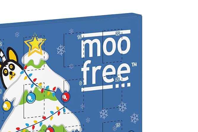 Moo Free Packaging Design Advent Calendar