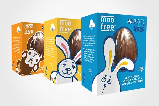 Moo Free Packaging Design Easter Egg