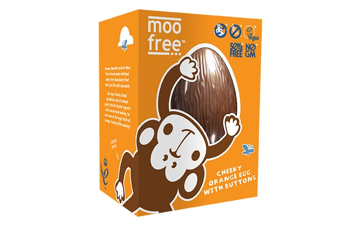 Moo Free Packaging Design, Easter Egg
