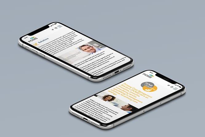 PCMS Mobile Website
