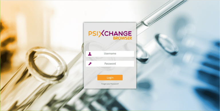 PSI_Xchange log in page
