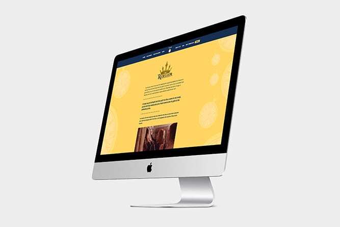 TimeTrap Website on Mac