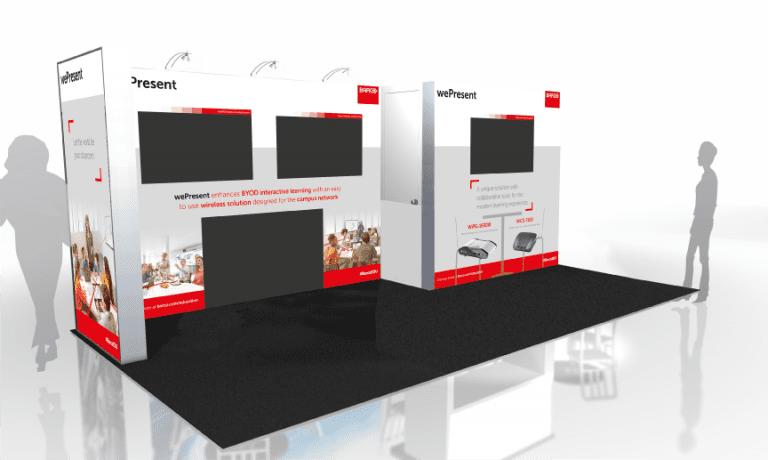 Barco exhibition design