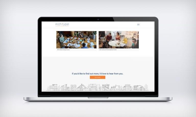 Architypal Website on mac