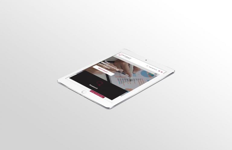 Argonaut tablet website design