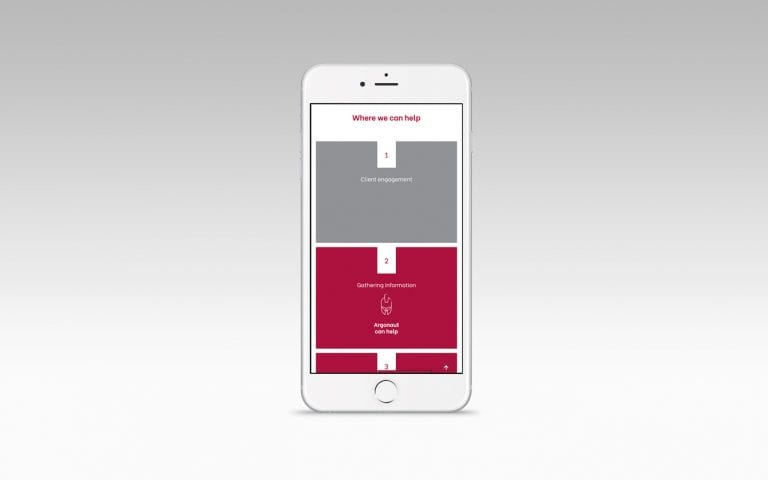 Argonaut Mobile Website