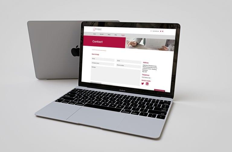 Argonaut Website design