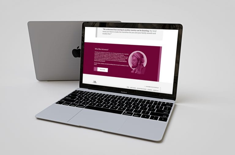 Avicenna Medical Recruitment website on mac