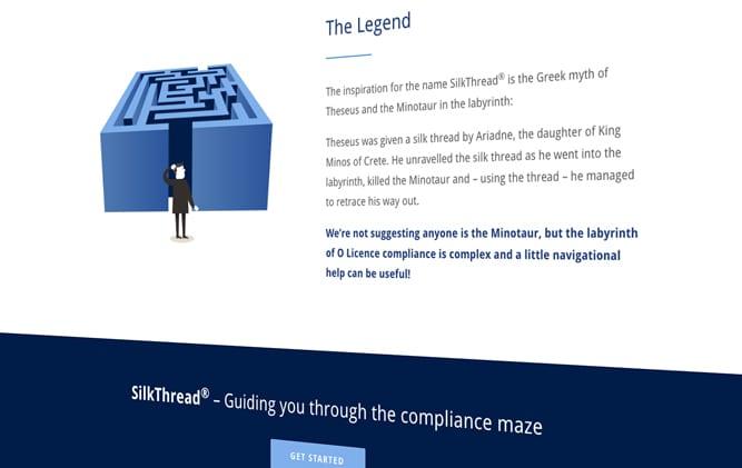 SilkThread website