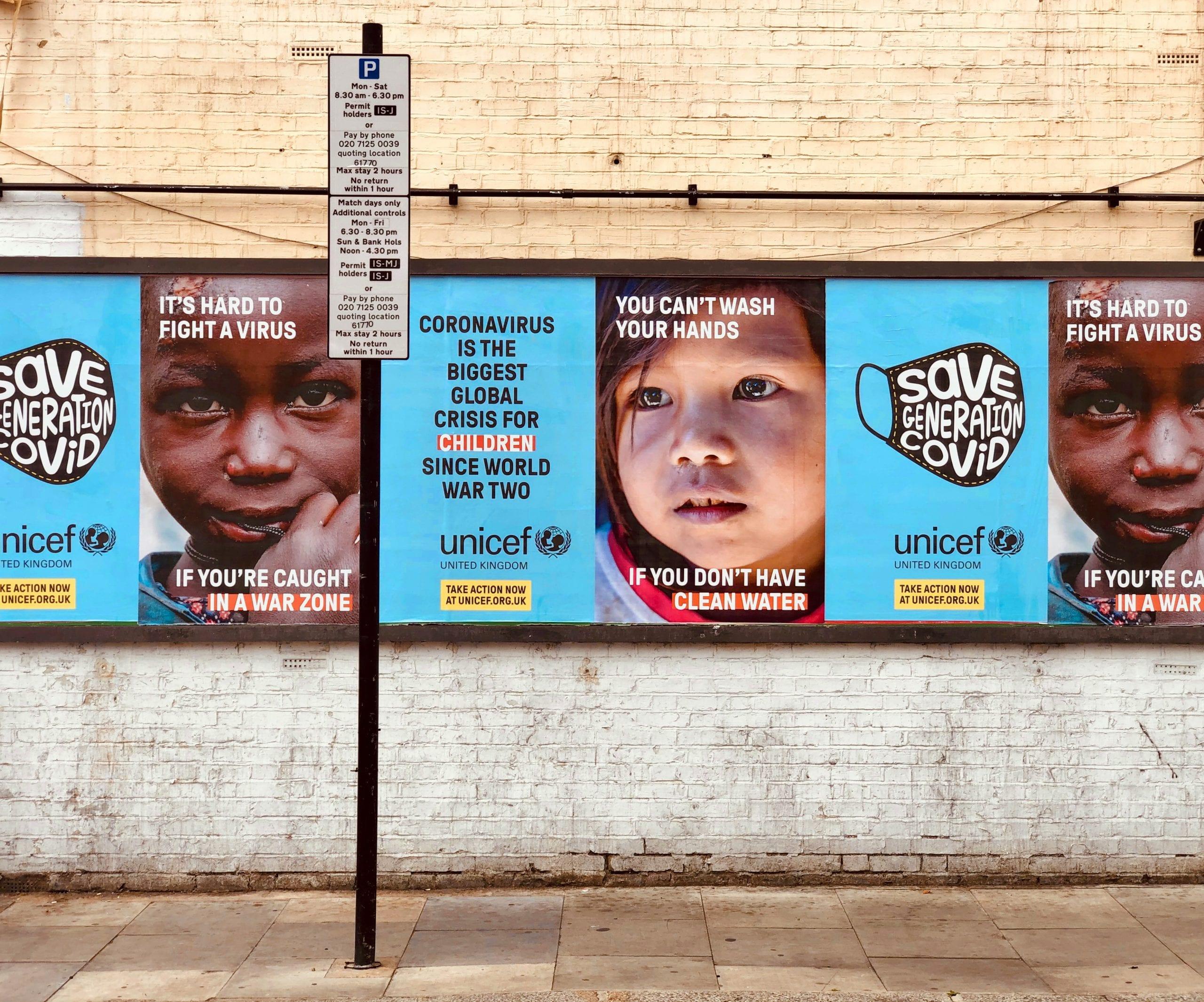 non-profit branding posters