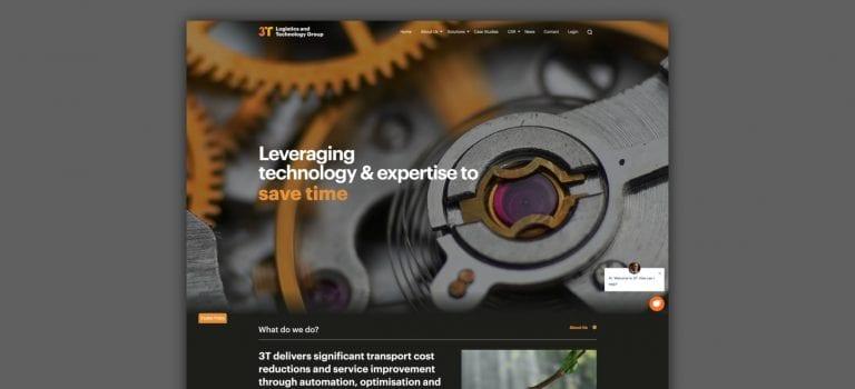 3T logistics website
