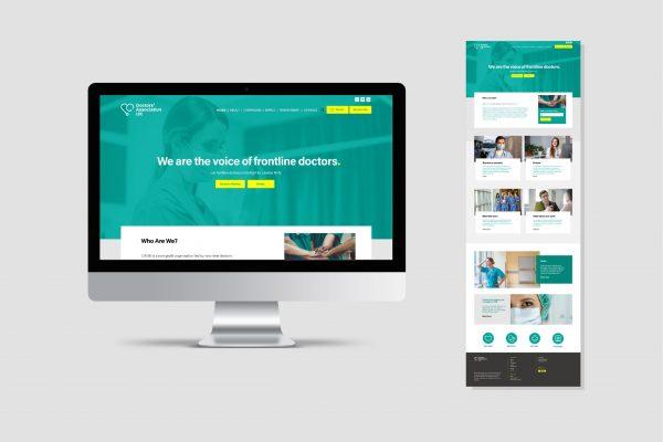 DaUK Website design