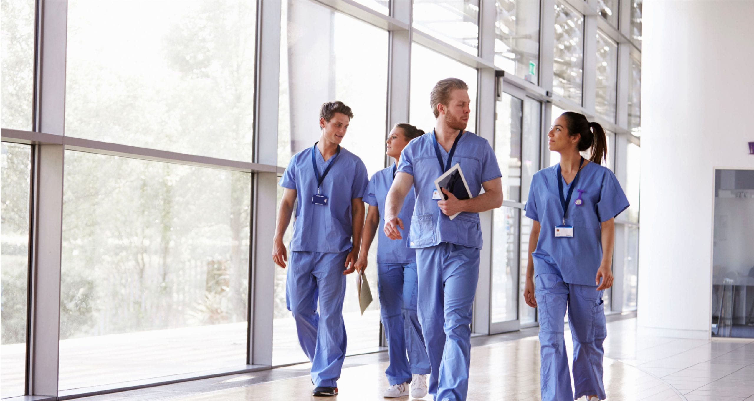 four Doctors in Scrubs